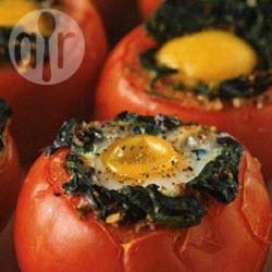 Gevulde tomaten met ei recept