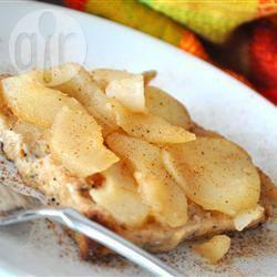 Wentelteefjes met peer uit de oven recept