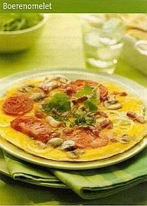 3 x omelet recept