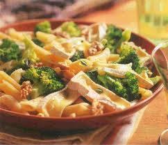 recept brieost pasta