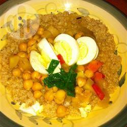 Groentesoep met couscous recept