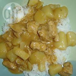 Massaman kip curry recept