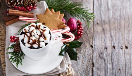 Warme chocolademelk met marshmallows recept