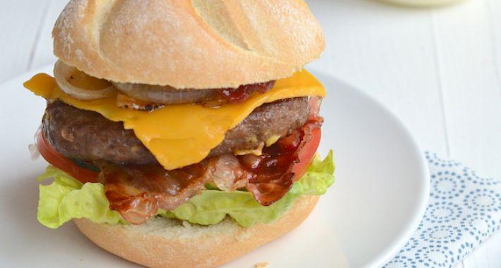 Real american burger