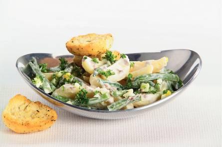 Aardappelsalade met ansjovisdressing