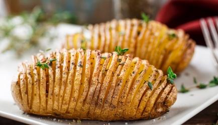 Hasselback aardappeltjes recept