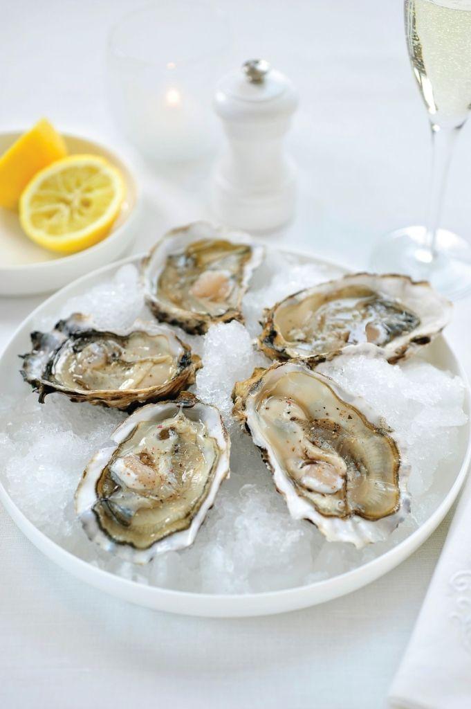 Recept 'oesters op ijs'