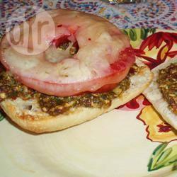 Italiaanse kaas-sandwich recept