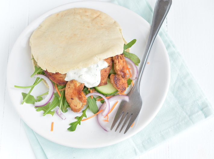 Fresh & easy: pita shoarma