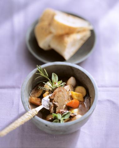 Recept 'winters stoofpotje met lamsvlees'