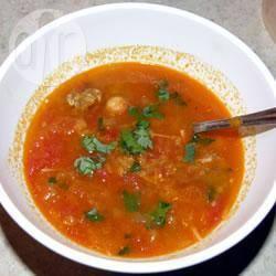 Harira (marokkaanse soep) recept
