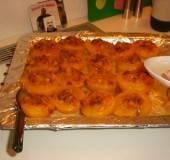 Perziken gevuld met bitterkoekjes warm uit de oven recept ...