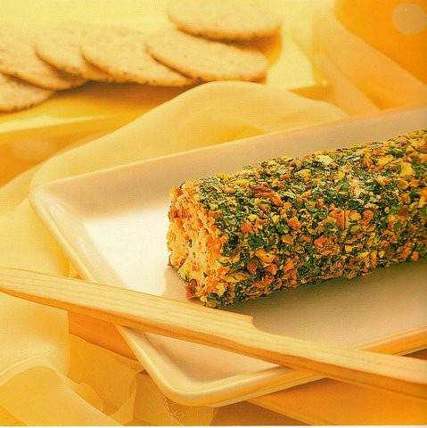 Een waanzinnig lekkere kaas-fruitrol recept