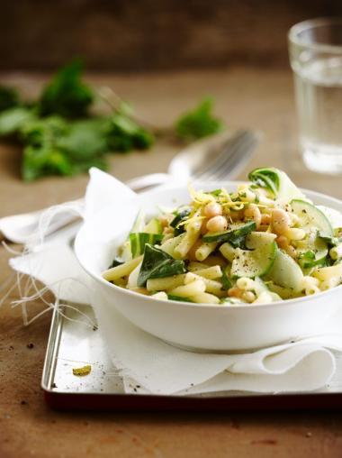 Recept 'pasta met zomerboontjes'