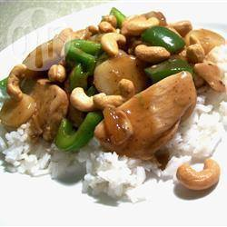 Geroerbakte kip cashew recept