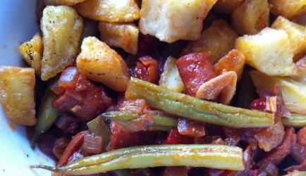 Spaanse sperziebonen met chorizo recept