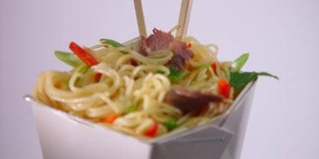 Thai noodle salad recept