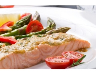 Zalm met dille-saus (after-work-out) recept