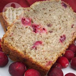 Cranberrycake met banaan recept