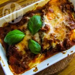 Koolhydraatarme lasagne: yes you can! recept