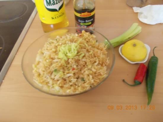 Verrukkelijke aziatische witte kool salade recept