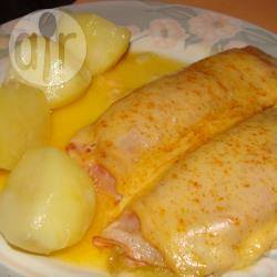 Witlof met kaas en ham recept