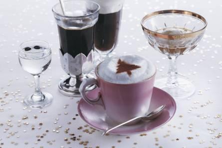 Koffie met sambucca