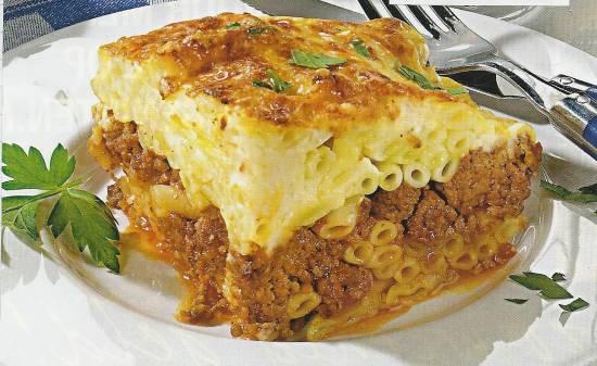 Pastitsio (macaroni-gehaktschotel) recept