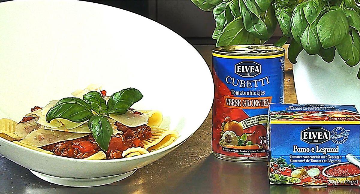 Recept 'spaghetti bolognaise'