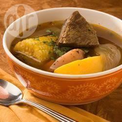 Runder-pompoen stoofpot recept
