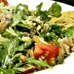 Florentijnse pastasalade met kip recept