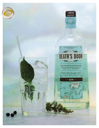 Recept 'death's door gin'