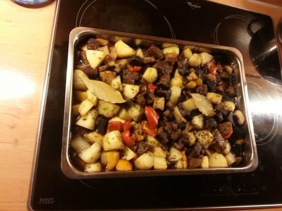 Stoofschotel rundvlees en vergeten groenten recept