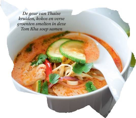 Thom kha kai recept