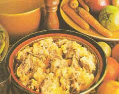 Hutspot met kalfsvlees, tomaten, kruiden en ketchup recept ...