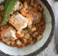 "Hondshaai ""osso bucco style"" recept"