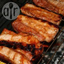 Vleesribbetjes (baby back ribs) recept