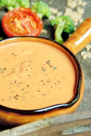 Recept 'sausje van geroosterde tomaat'