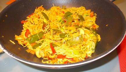 Lekkere pittige aziatische mie met veel groenten en slank recept ...