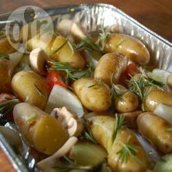 Aardappeltjes met rozemarijn uit de oven recept
