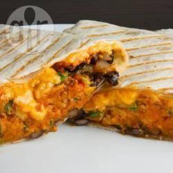 Pompoen burrito's recept