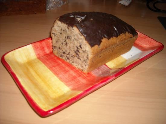 Cake met chocolade en amandelen recept