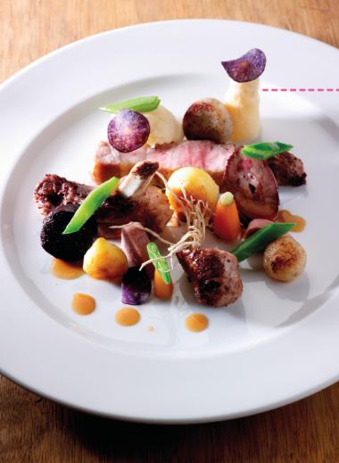 Recept 'bord met worst, beuling, kotelet en nier'