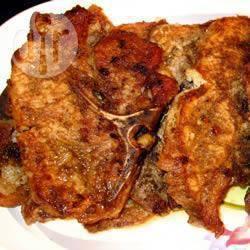 Karbonade met koriander en komijn recept