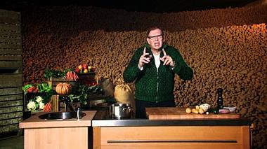 Recept 'knapperige rösti met spekblokjes'