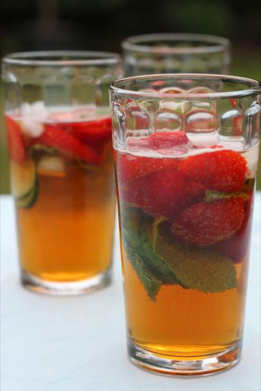 Recept 'pimm's punch'