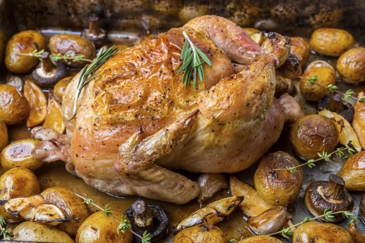 De ultieme gebraden kip