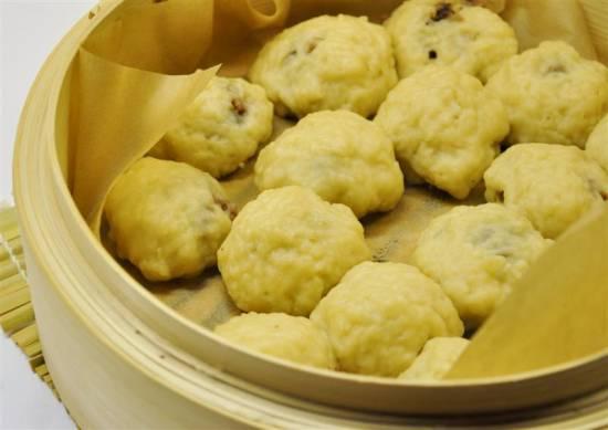 Dim sum: gestoomde gehaktbroodjes recept