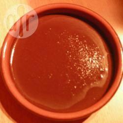Chocoladepudding zonder eieren recept