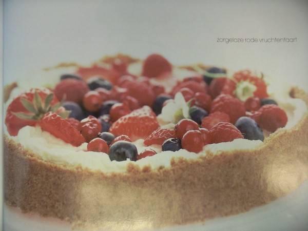 Zorgeloze rode vruchtentaart recept